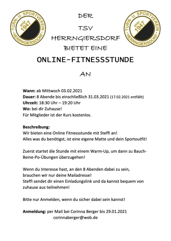 Online_Fitnessstunde